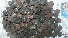 10 Coins LOT - GOOD CONDITIONS 1000 YEAR OLD KING RAJA RAJA CHOLA COPPER COINS