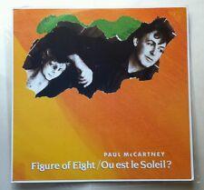 """Paul McCartney """"Figure Of Eight / Ou est le Soleil?"""" MINT Parlophone 12"""" EP 1989"""