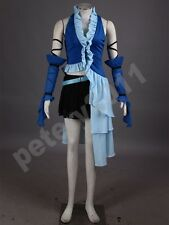 Final Fantasy x Yuna Cosplay Costume Singing Uniform Game Cosplay Costumes