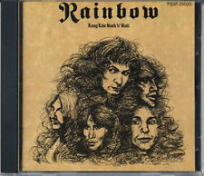 RAINBOW Long Live Rock N Roll JAPAN 1st Press CD 1986 P33P25020 RARE!