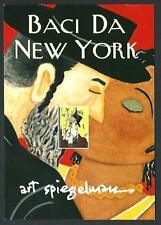 Art Spiegelman : Baci da New York - Invito a mostra 2003 - perfetta