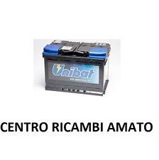 BATTERIA AUTO VEICOLI UNIBAT 80 AH 12V PER NO BOSCH NO FIAMM PER ALFA ROMEO 156
