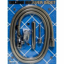 Stainless Steel Shower Bidet Enema Douche Cleansing System Hose Attachments