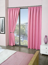 "LUSSO TERMICA Supersoft Blackout TENDINE ROSA 66 ""X72"" (168cm x 183 cm)"