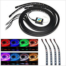 4 X 8 Color LED Light Strip Phone APP Control Neon Atmosphere Chassis Lamp Strip