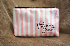 NEW! Victoria's Secret Logo Make Up/Cosmetic Bag/Travel Pouch MEDIUM. Lovely!