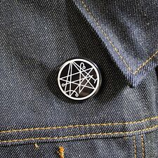 Necronomicon Gate - Pinback Button H.P. Lovecraft Magic