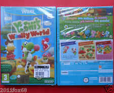 videogiochi wii u yoshi's woolly world video games wiiu z new sealed yoshi game