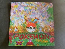 Pokémon VIDEOGAME SOUNDTRACK Vinyl LP Record Blue/white swirl Pokemon