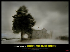 "TODD HIDO 'Tree and House' Silver Meadows 2013 Exhibition Poster 12"" x 16"" *NEW*"