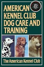 ☆EX-LIB BOOK^AMERICAN KENNEL CLUB AKC DOG CARE AND TRAINING HANDBOOK GUIDE,PUPPY
