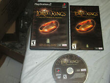 Lord of the Rings: The Fellowship of the Ring (PlayStation 2, PS2) complete