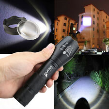 Super Bright 10000Lumens 5Modes CREE XML T6 LED 18650 Flashlight Zoom Torch Lamp