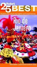 Fodor's Rio de Janeiro's 25 Best (Full-color Travel Guide)-ExLibrary