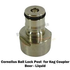 Cornelius Beer Type Ball Lock Post for Keg Coupler- For the home brew hobbyist