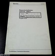 Werkstatthandbuch Audi A 4 / A4 Motronic Einspritzanlage Zündanlage 4-Zyl. Turbo