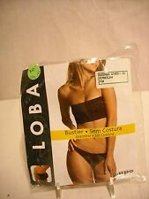 Lupo Loba Bustier, tube bra Red size 38 NEW