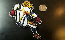 """Los Angeles St Louis Rams EMBROIDERED IRON ON PATCH 3.5"""" x 3"""" NFL FOOTBALL"""
