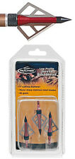 New 3 Team Realtree Javelin Three Blade Broadheads,85 Grain Arrow Point,84650