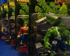 Hulk Smash & Crash Series Full Set 5 Figures MOC Doc Samson Leader Incredible