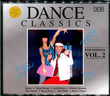 "DANCE CLASSICS POP EDITION VOLUME 2 - 3 CD VERSIONS MAXI 12"" MIXES - NEW NEUF"