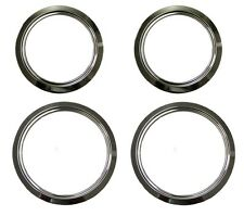 8 Inch and 6 Inch Trim Ring Set for Select GE Stoves - 2 of Each Size