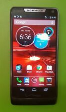 Motorola DROID RAZR M XT907, 8GB - Black - (Verizon Wireless) Clean eSN