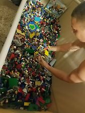 LEGO Legos 50 lbs Pounds Bulk Lot of ASSORTED COLORS & PIECES *FREE SHIPPING!*