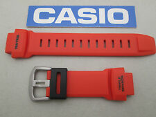 Genuine Casio Pro Trek Triple Sensor PRW-3500Y rubber watch band strap orange
