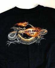 Hard Rock Cafe Denver Men's T-Shirt X-Large Yin Yang And Dragon Picture