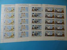 Stamps * GERMANY * B1042-045 * Cartoons by Loriot * Sheets of 10 * MNH * 2011 *