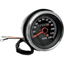 Drag Specialties DS-243960 3 1/8in. Speedometer - 120MPH - 2:1 Ratio