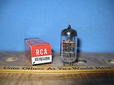 Radio Tubes 6678 6U8A 6U8 RCA NOS