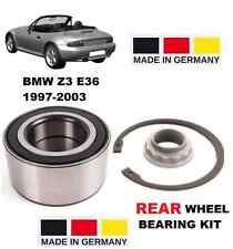 FOR BMW Z3 E36 SERIES 1997-2003 3.2 M COUPE NEW REAR WHEEL BEARING KIT