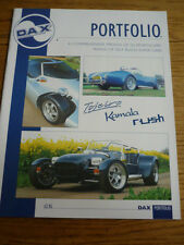 DJ SPORTSCARS DAX RANGE REPLICA KIT CAR PORTFOLIO 'SALES BROCHURE'