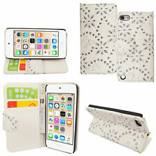 Folio Flip Wallet Card Stand Leather Case Cover For Apple iPod Touch 4/5/6 Gen