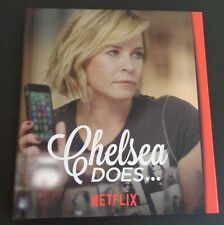 CHELSEA DOES Season One Emmy DVD 2 Discs Netflix With Book FREE SHIPPING Promo
