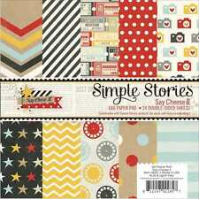 NEW SIMPLE STORIES SAY CHEESE II 6X6 PAPER PAD