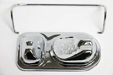 Chrome 1973-1983 Ford Style Master Cylinder Cover Single Bail Bendix 302 #9217