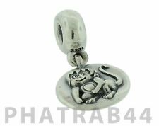 Authentic Retired Pandora Sterling Silver Chinese Zodiac Monkey Dangle 790880