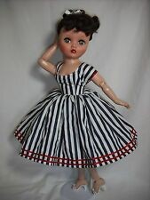 "NEW QUALITY Vintage Reproduction Dress Fits 19"" 20"" Uneeda Dollikin ByOTM"