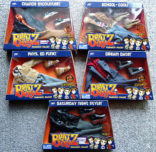 BRATZ DOLL Clothing Accessories FASHION PACK KOBY/CAMERON/EITAN School Cool MORE