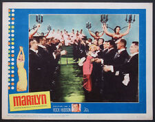MARILYN BIOPIC MARILYN MONROE DIAMONDS ARE A GIRL'S BEST FRIEND 1963 LOBBY CARD