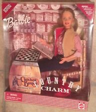Country Charm Cracker Barrel Old Store Special Edition Blonde Barbie Doll NRFB