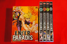 Enfer & et Paradis Box 2 - 3 DVD + BO Edition collector MANGA VF VOSTF COMPLET