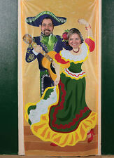 Mariachi Fiesta Photo PROP Door Banner party pics Spanish Mexican Cinco De Mayo