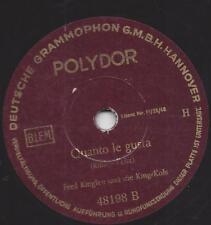 Fred Kinglee und die King-Kols 1949 : Cuanto le Gusta + Manana
