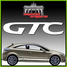GTC Opel Astra Corsa  Seitenstreifen Rennstreifen Seitenaufkleber Aufkleber