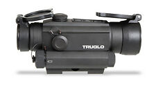 TruGlo Tru-Tec - 30mm Red Dot Sight with Green Laser - TG8130GN - Black with Box