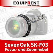 SevenOak SK-F03 Follow Focus / Zoom Hebel für DSLR (EQF89)